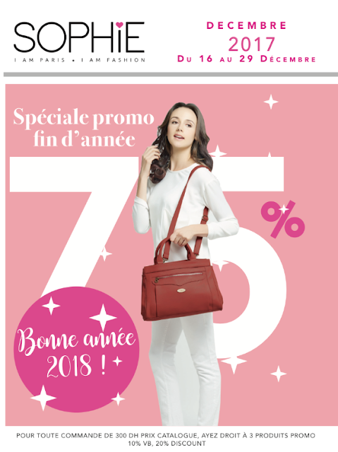 promotions sophie paris decembre 2017