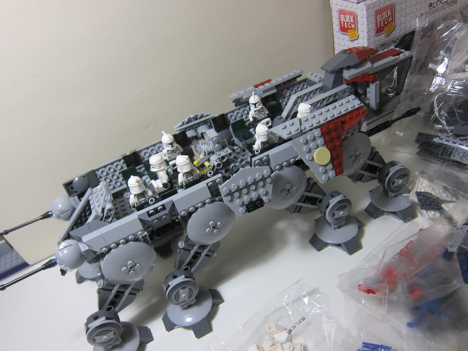 Its Not Lego How I Fixed My Lepin Republic Dropship With At Ot