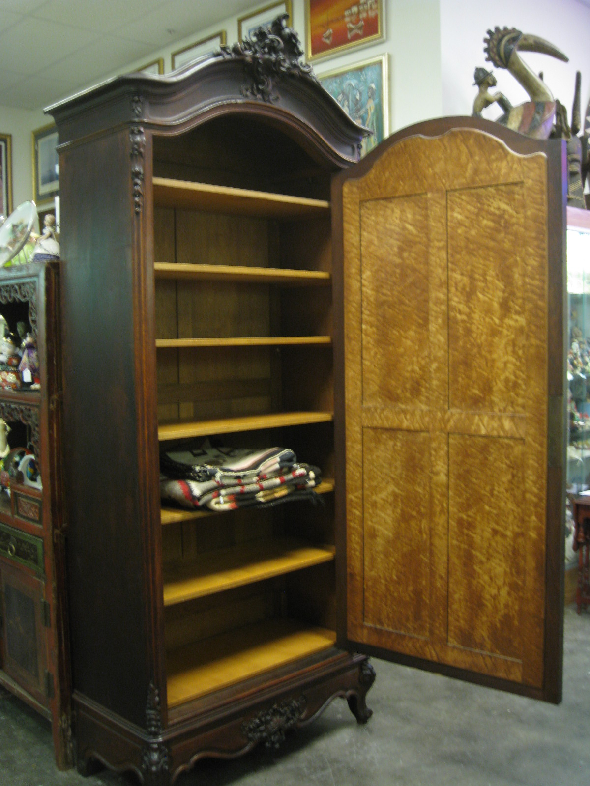 Antiques, Art, and Collectibles: Vintage Armoire Old World ...