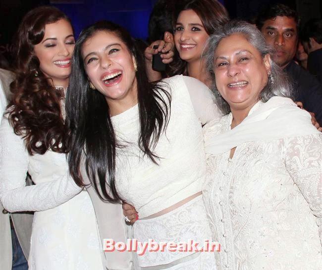 Dia Mirza, Kajol and Jaya Bachchan, Top Bollywood Celebs at Men For Mijwan Charity Fashion Show