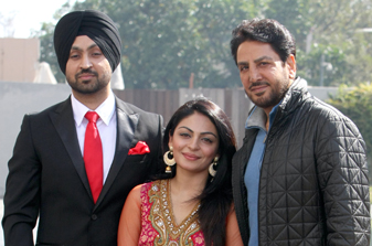 Actor Neeru Bajwa is geared to step into film production with the launch of Fresh Air Movies, starring Gurdas Maan in its maiden venture.
