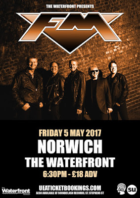 FM at Norwich The Waterfront  - 5 May 2017 - poster