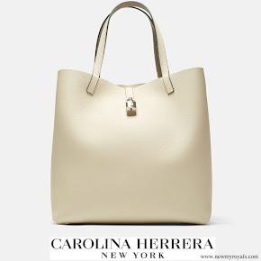 Meghan Markle carried Carolina Herrera Mariola Shoulder Bag