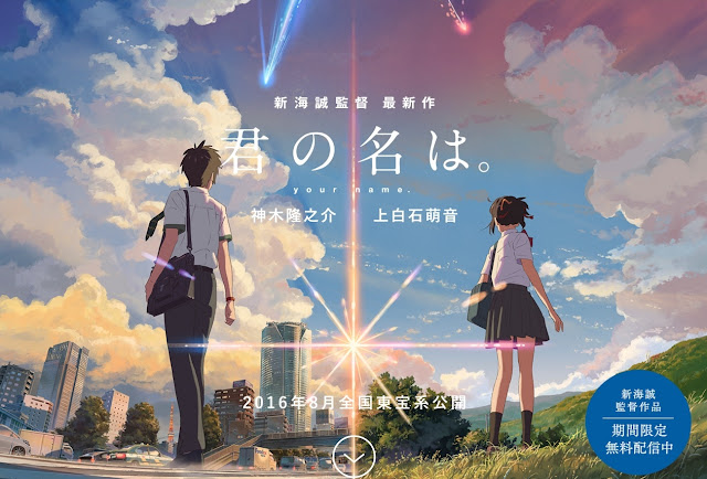 Download Kimi no Na Wa (2016) Bluray Subtitle Indonesia 240p 360p 480p 720p 1080p