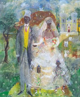 Casamento na Roça - Guignard e suas pinturas ~ Pintor de Minas Gerais