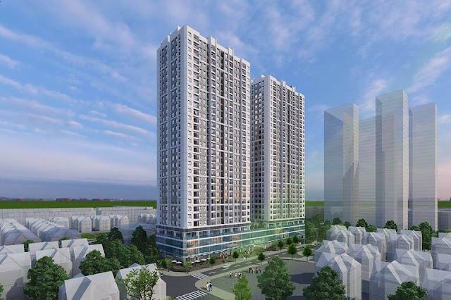 Phối cảnh dự án chung cư ICID Complex