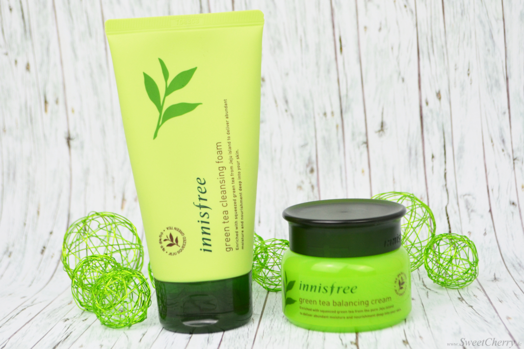 Innisfree Green Tea Skincare