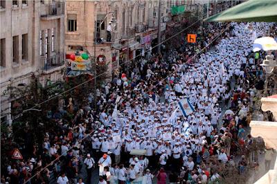 Milhares de cristãos participam da Marcha de Jerusalém