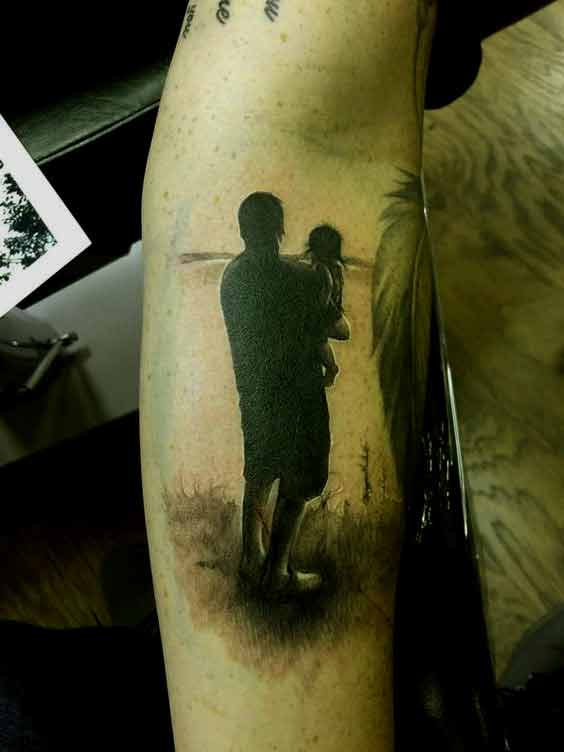 Inner Child Tattoo: 50 Best Father Tattoos Designs And Ideas To Dedicate To