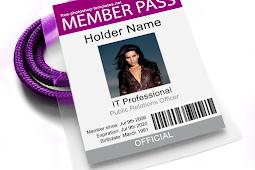 Ukuran Standar ID CARD Atau Name Tag