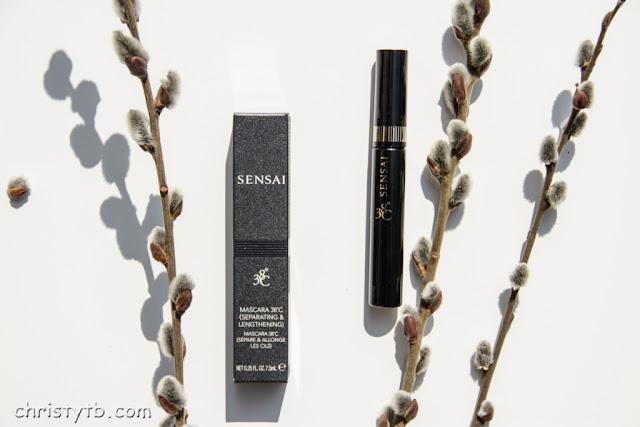 Удлиняющая и разделяющая термотушь Sensai 38°C mascara separating & lengthening MSL-1 black