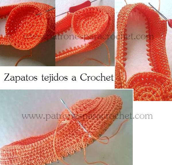Zapatos Crochet Paso a paso | Patrones para Crochet