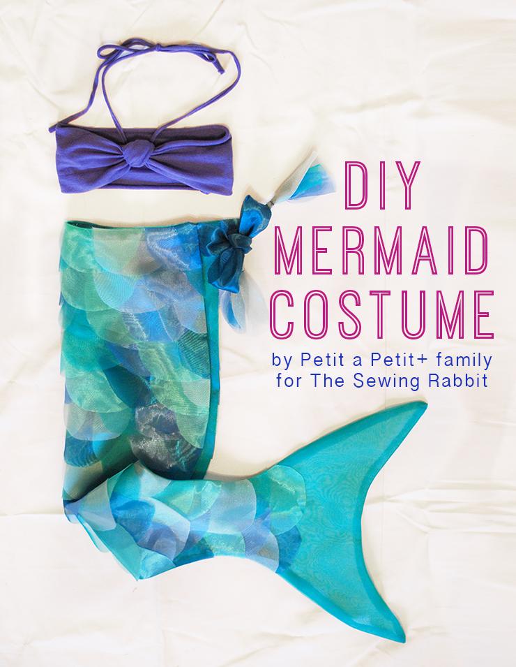 DIY Mermaid Costume u2013 Video Tutorial  sc 1 st  The Sewing Rabbit & DIY Mermaid Costume - The Sewing Rabbit