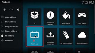 Cara menjalankan IPTV di KODI tahap 7