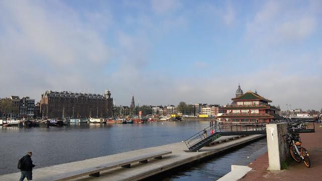 Amsterdam wybrzeże