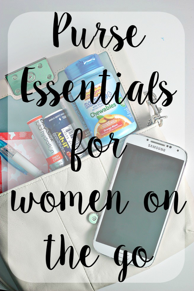 Purse Essentials for Women on the Go