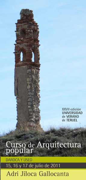 Centro De Estudios Del Jiloca Curso De Arquitectura Popular