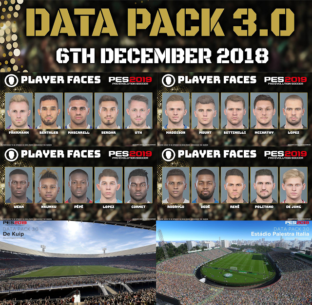 PES 2019 Data Pack 3.0 For CPY Version