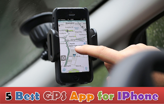 5 Best GPS App for IPhone | Alexas Apps