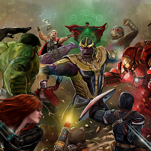 The Avengers Art Wallpaper Engine