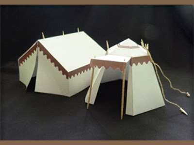 Papercraft Tents