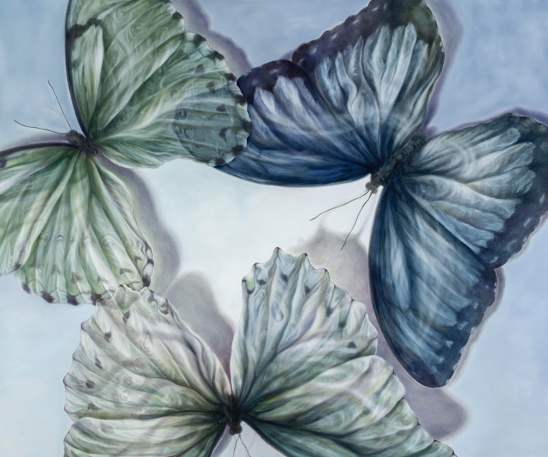 Butterflies and Flowers by Carin Gerard.