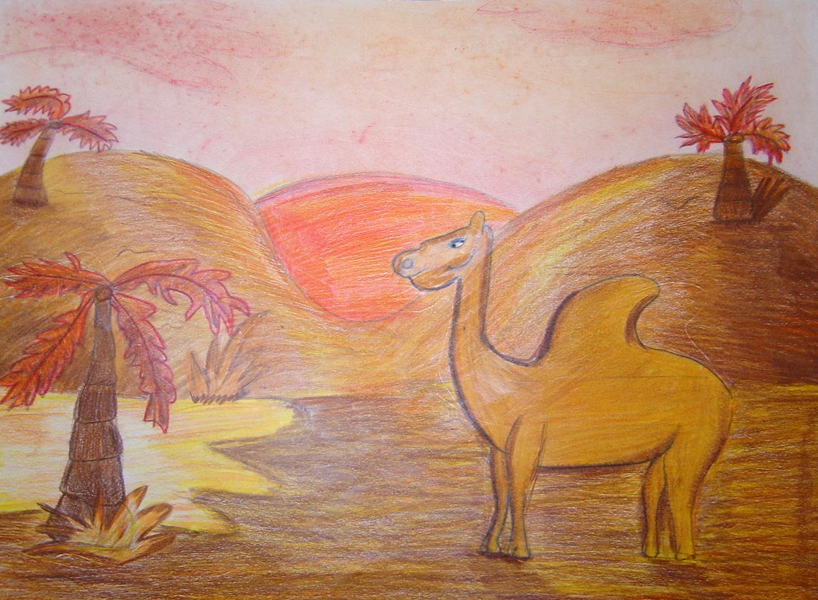 Dietro il dipinto paesaggi a colori caldi e freddi for Disegni a colori caldi