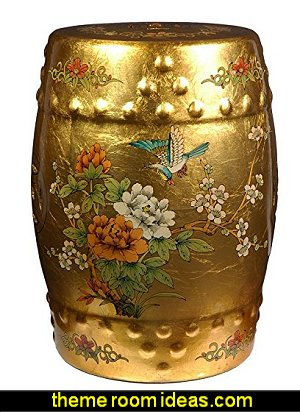 Oriental Furniture Golden Garden Stool