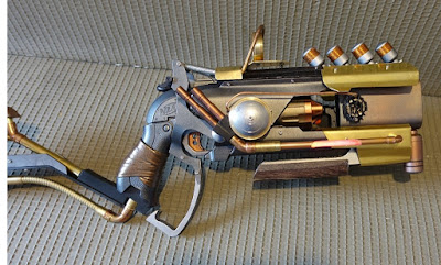 Súng đồ chơi Nerf Hammershot độ chế khoa học viễn tưởng