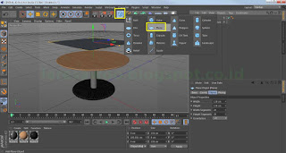Tablecloth tutorial using cinema 4D