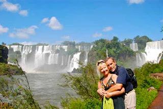 Pat Wayne dunlap Iguazu Falls Argentina
