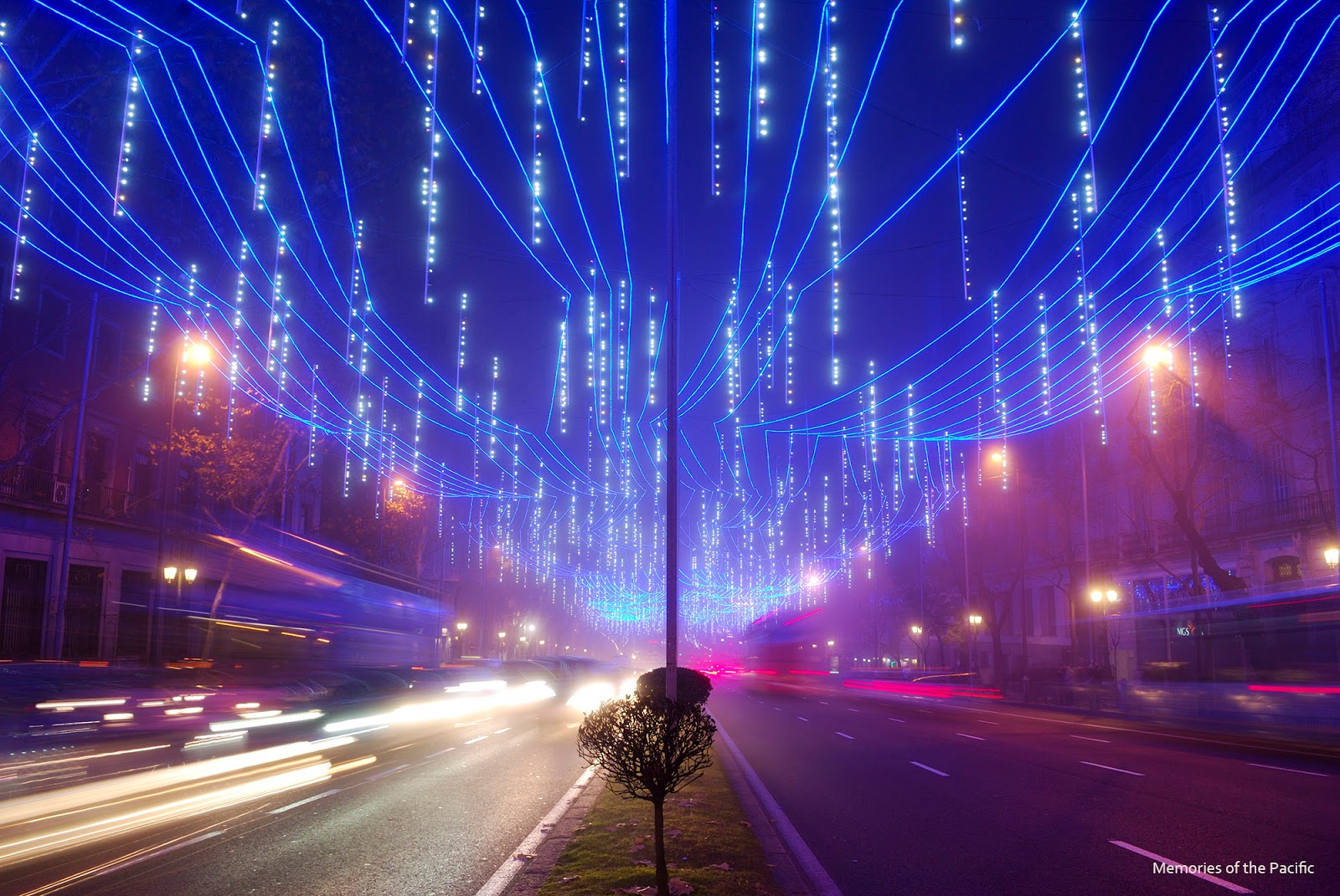 madrid christmas lights alcala luces navidad