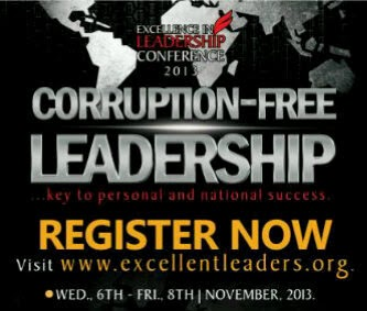 Excellence in Leadership Conference: Corruption-Free Leaserdship