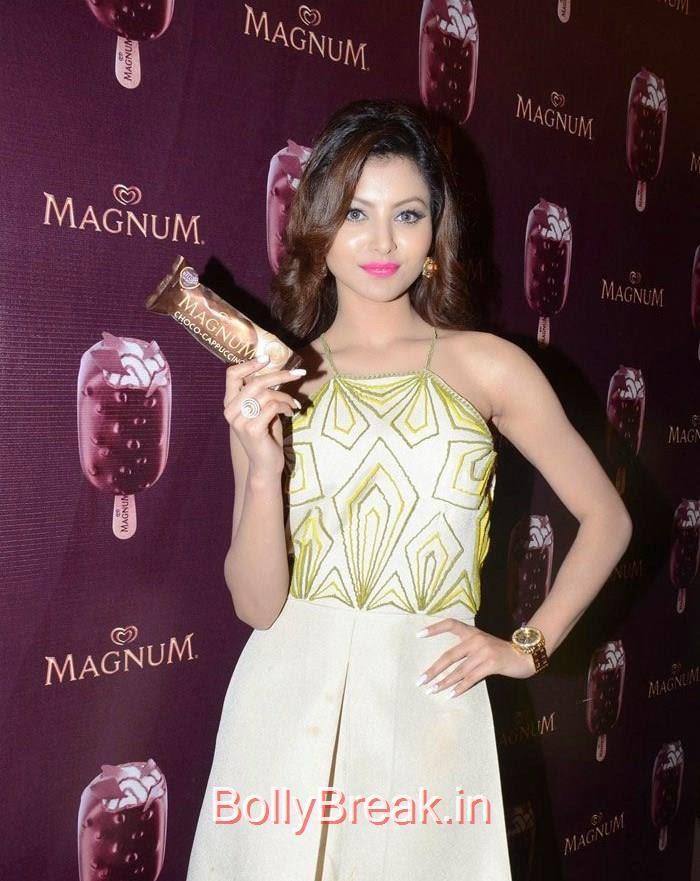 Urvashi Rautela, Urvashi Rautela,Sana Khan, Soha Ali Khan, Magnum's Choco Cappuccino flavour Icecream Launch