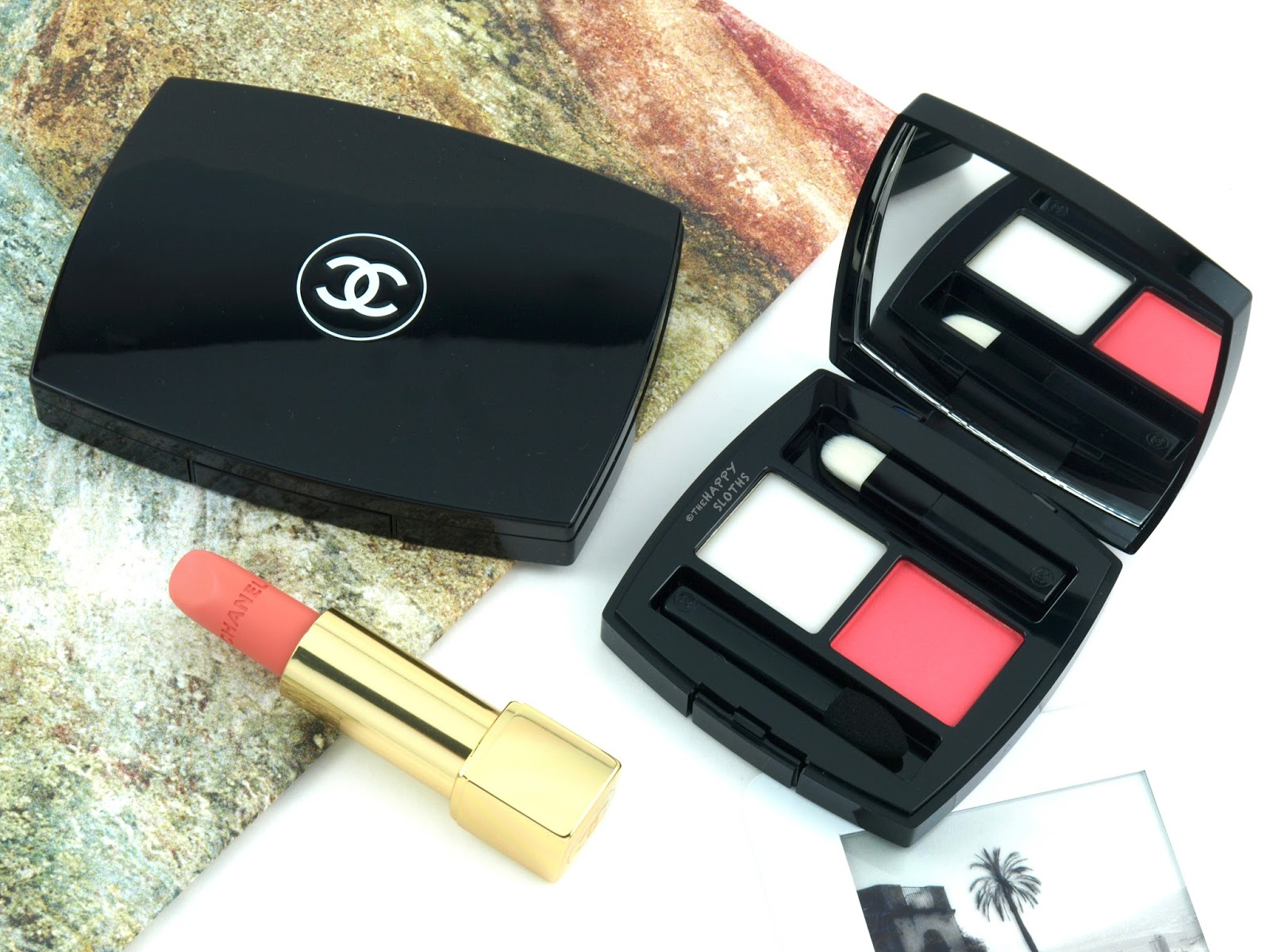 "Chanel Spring/Summer 2018 | Poudres à Lèvres Lip Balm & Powder Duo in ""418 Rosa Tempera"": Review and Swatches"