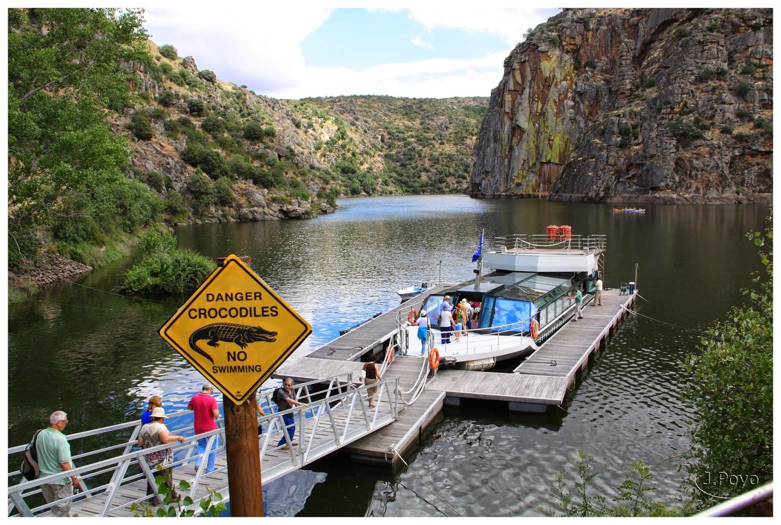 Peligro Cocodrilos, Crucero por el Parque Natural de los Arribes del Duero