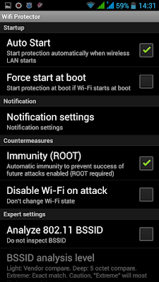 Hack Proof Setting of Wifi Protector