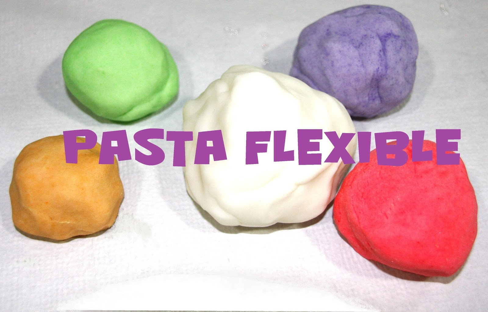 D m manualidades pasta o masa flexible sin cola - Todo tipo de manualidades para hacer ...