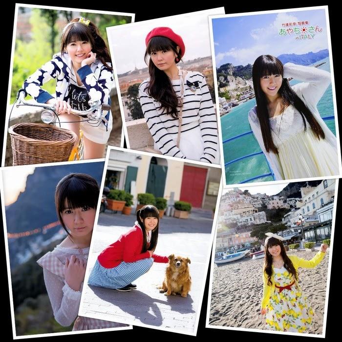 [Photobook] Ayana Taketatsu 竹達彩奈 & Ayachi in ITALY あやちさん in ITALY (2014-08-20)