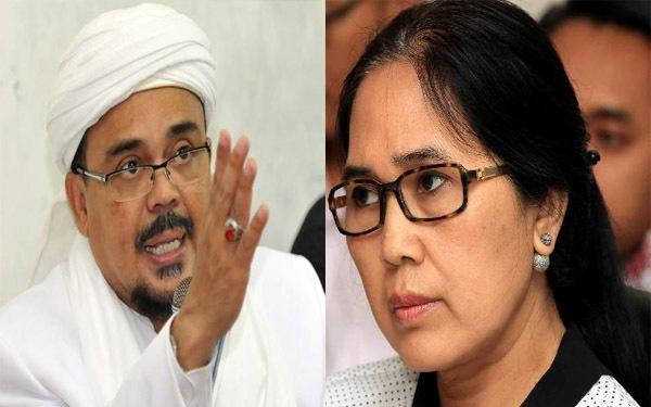 Diminta Keluar dari Indonesia oleh Politisi PDIP Eva Sundari, Ini Jawaban Habib Rizieq