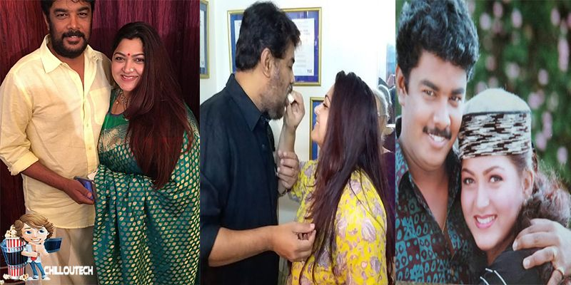 Director Sundar C and Actress Khushbu special day