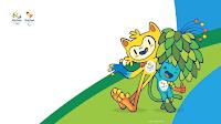 Download Wallpaper Maskot Olimpiade 2016 Rio Brasil