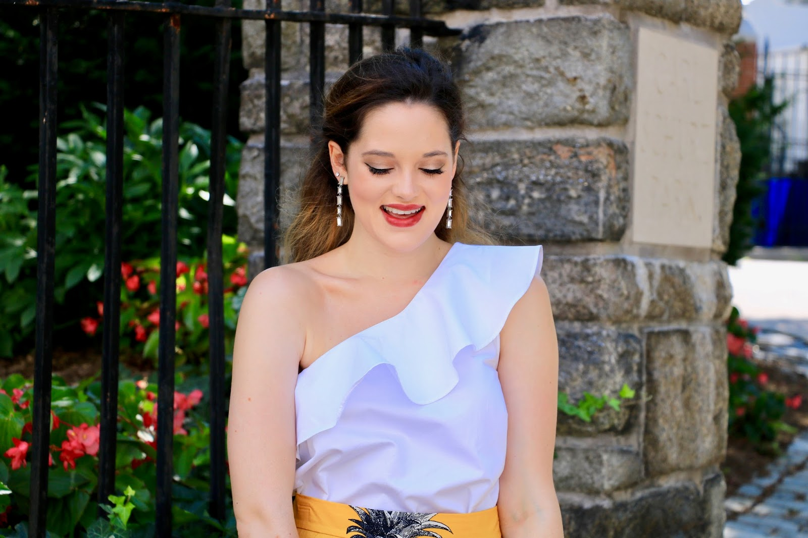 Top fashion blogger in NYC, Kathleen Harper of Kat's Fashion Fix
