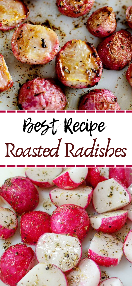 Roasted Radishes #healthyfood #dietketo