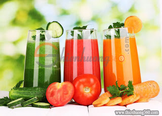 Nước ép rau là một trong những thức uống giảm cân hiệu quả