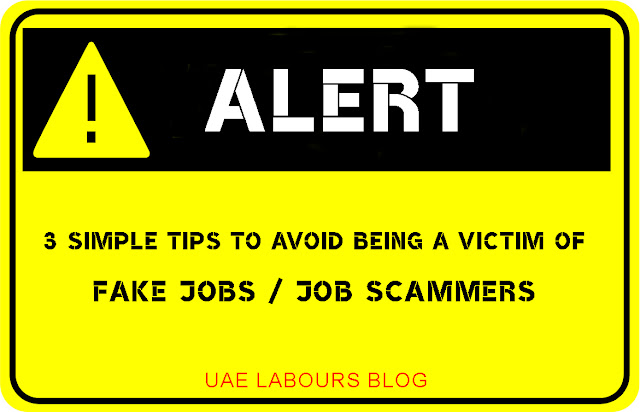 Fake Jobs in UAE