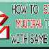 How to sign up multiple times to a website with one/same gmail account