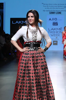 Sunny Leone for DoubtIsOut at Lakmé Fashion Week Summer/Resort 2016