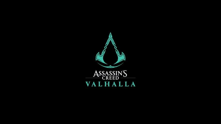AC Valhalla, Logo, 8K, #3.1678