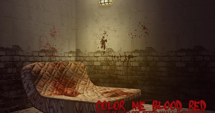 My Sims 3 Blog Blood Splatter Wall Writings by Egosandlies